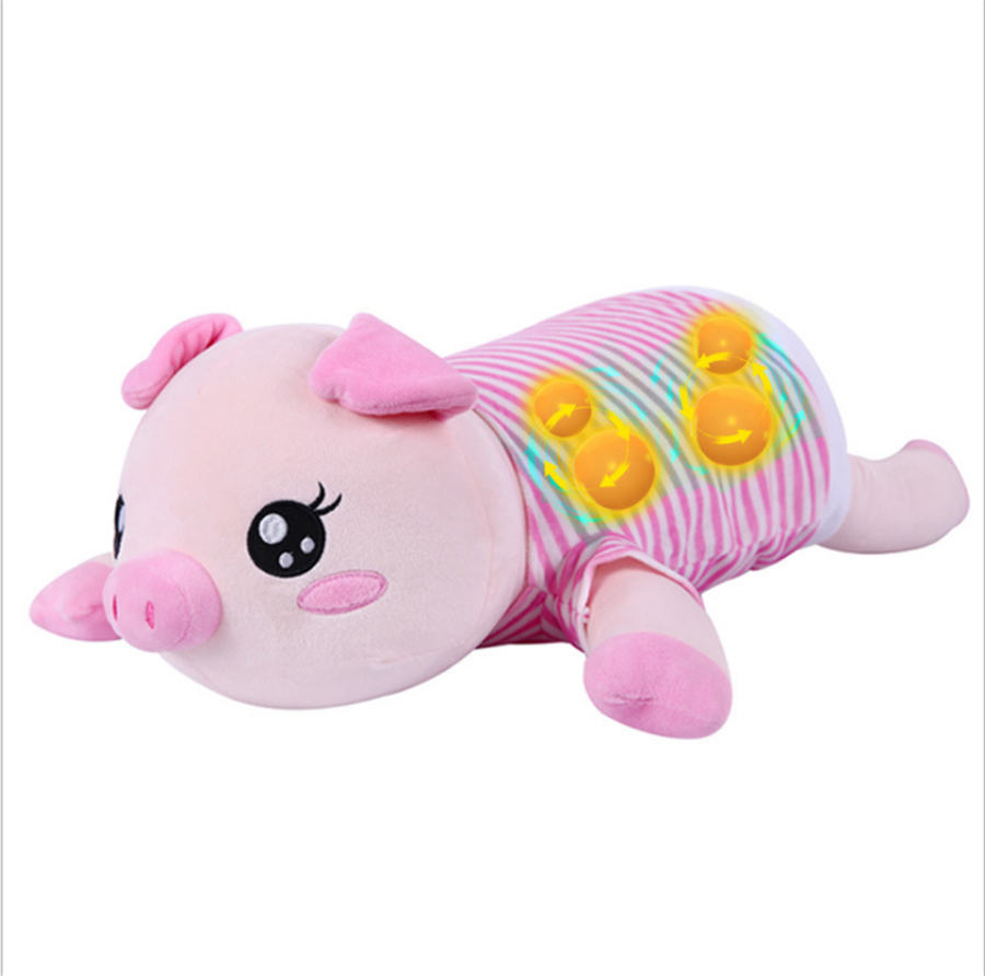 Doll Electrical Back Neck Shoulder Body Massager Infrared Heated Kneading Home Massagen  Cute Pig  for birthday giftDoll Electrical Back Neck Shoulder Body Massager Infrared Heated Kneading Home Massagen  Cute Pig  for birthday gift