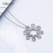 Роскошная подвеска чокер с белым кристаллом ожерелье ювелирные