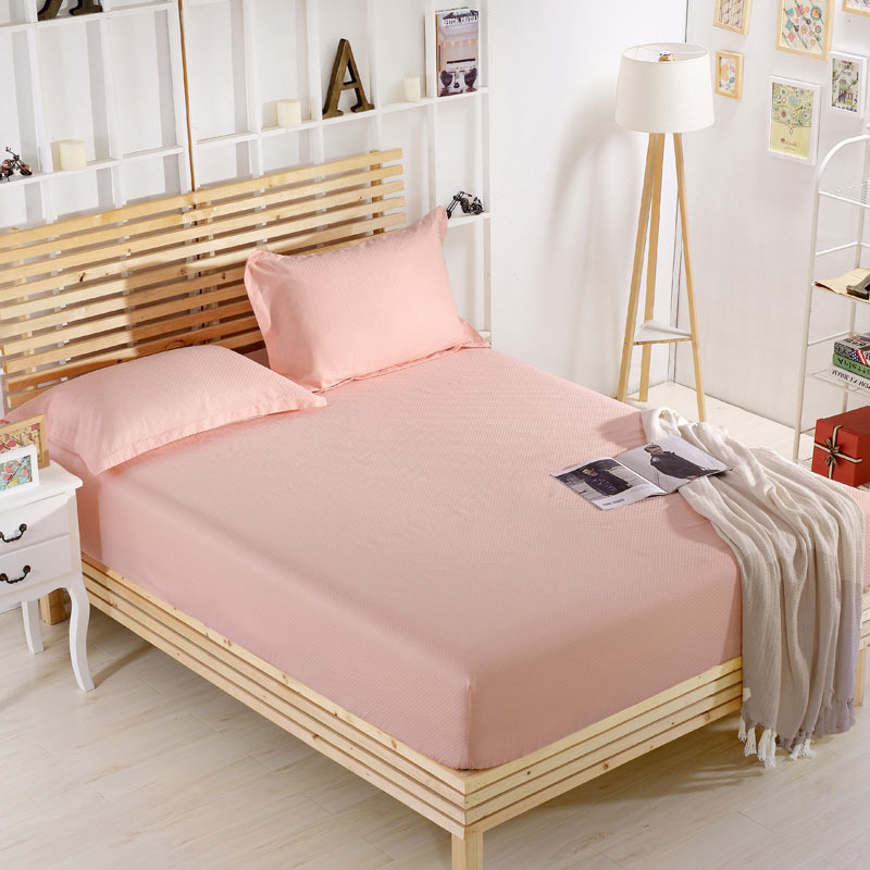 Cotton Futon Cover Twin 100 Solid Bed Sheets Elastic Mattress