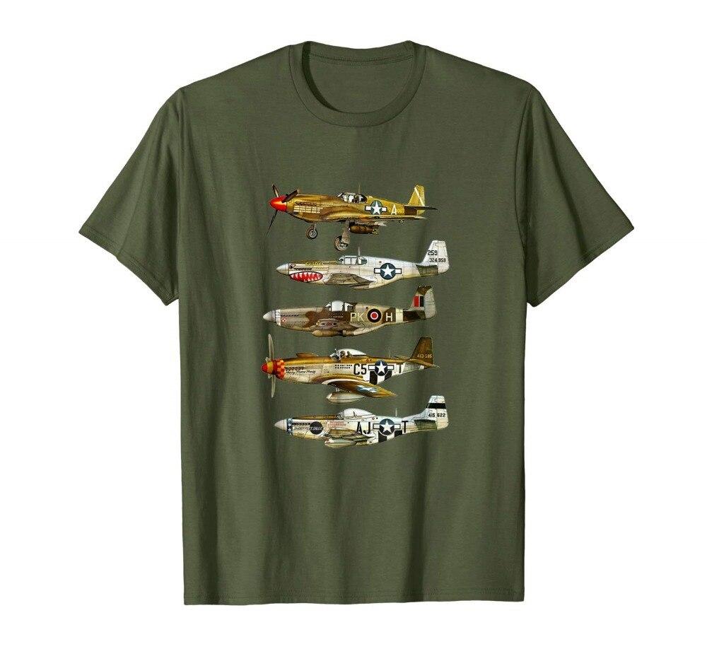 Brand Clothes Summer 2019 Me 109 Messerschmitt World War Two Fighter Airplane T-Shirt