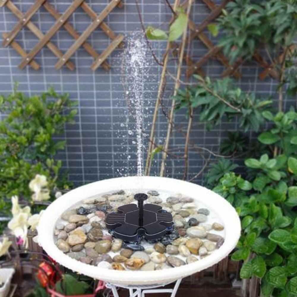 Zonnepaneel Waterpomp 6V Drijvende Bloemvorm Waterpomp Tuin Watering Power Fontein Zwembad Fontein Outdoor Landschap