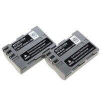 2PCS Battery EN EL3e EN EL3e ENEL3e Rechargeable Camera Battery For Nikon D300 D100 D200 D700