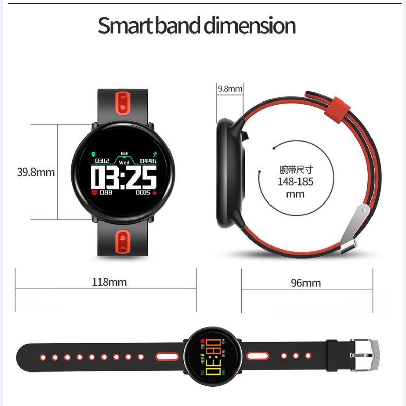 New Smart Watch Men Smart Bracelet Pedometer Calorie Waterproof Alarm clock Sports Watch Women Smartwatch For Android IOS phone