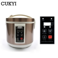 CUKYI Automatic Black Garlic Fermenter 5L 6L Household DIY Zymolysis Pot Maker 110V 220V Black Garlic