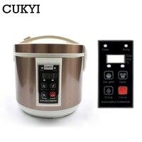 CUKYI Automatic Black Garlic Fermenter 5L 6L Household DIY Zymolysis Pot Maker 110V 220V Black Garlic