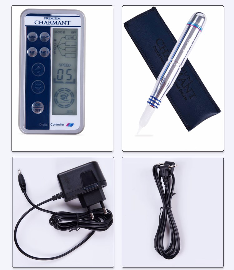 ФОТО Permanent Makeup Panel Control Permanent Makeup Machine Kit For Eyebrow Tattoo Lip eyeliner MTS Microblading Pen