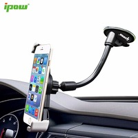IPOW Long Arm Phone Holder Windshield Dashboard Car Mount Holder Phone Support For IPhone 7 Plus