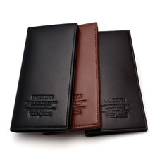 Fashion Clutch Wallet Men Wallets Casual Bags Coin Purse Mens PU Leather Male