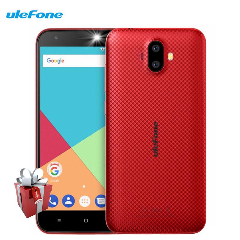Ulefone S7 Double Arrière Caméras Smartphone 1 GB RAM 8 GB ROM Quad noyau Android 7.0 5.0 Pouce HD MTK6580A 8MP 3G WCDMA Téléphones Portables