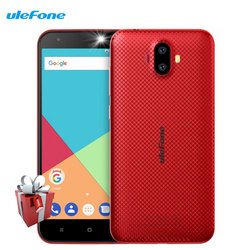 Ulefone S7 Dual Rear Cameras Smartphone 1GB RAM 8GB ROM Quad Core Android 7.0 5.0 Inch HD MTK6580A 8MP 3G WCDMA Cellphones