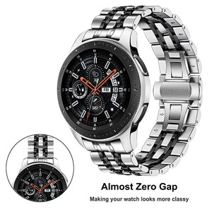 Image 2 - Bandream Zero Gap correa de reloj de acero inoxidable para Samsung Galaxy Watch, 46mm, SM R800 Gear S3, correa de repuesto, pulsera