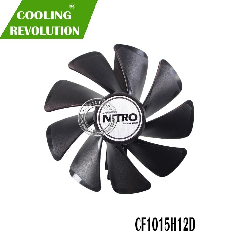 95 мм CF1015H12D DC12V кулер вентилятор Замена для Sapphire NITRO RX480 8G RX 470 4G GDDR5 RX570 4G/8G D5 RX580 8G OC