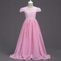 New Arrival Teenage Girls Princess Dresses Teen Girl Prom Lace Dress Girl Formal Dress Kids Wedding