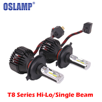 Auxbeam H4 H7 H11 H13 9005 HB3 9006 HB4 Led Car Headlight Single Hi Lo Beam