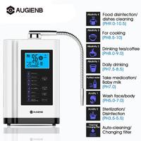 AUGIENB Water Purifier LCD Control Alkaline Acid Machine PH 3.5 11 Auto Cleaning 6000L Filter Water Ionizer Water Purifier