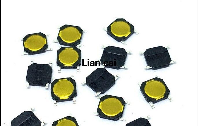 200PCS/Lot 4*4*0.8mm Tactile Push Button Switch Tact 4 Pin Switch Micro Switch SMD New Original