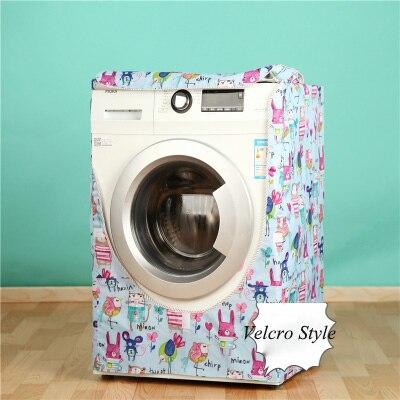 Gut gemocht Cartoon Waschmaschine Abdeckung staubdicht Bad Wasserdichte ZG57