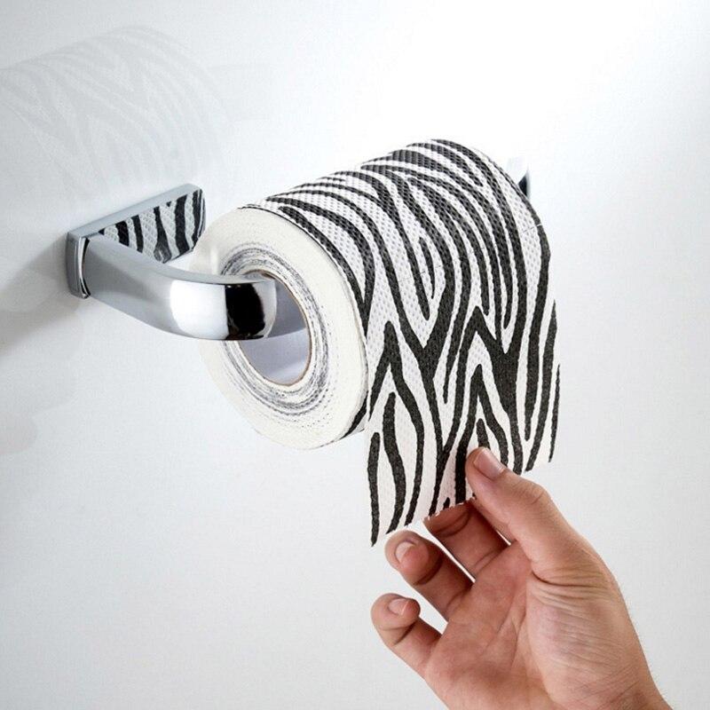 New Chrome Kitchen Paper Towel Roll Holder Rack Stand Dispenser Silver