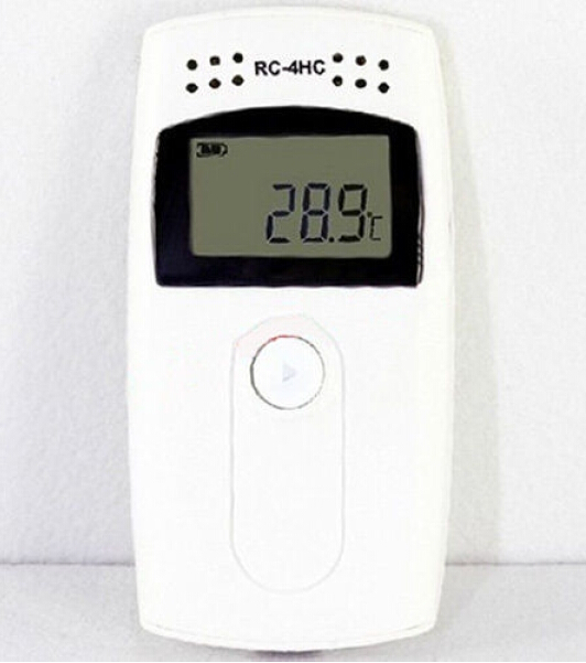 цена на Mini Thermometer Humidity Meter Digital Thermometer With Sensor Temperature Hygrometer Data Logger USB LCD Display RC-4HC