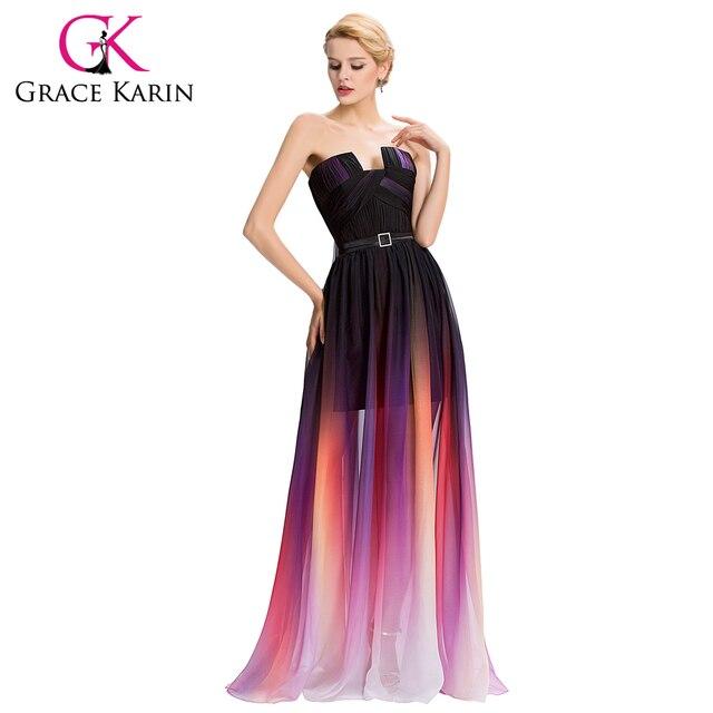 Imagenes de vestidos strapless largos