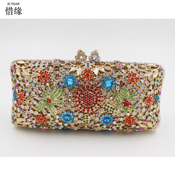 XIYUAN BRAND Women Wallet diamond crystal Card Coin Holder Money Clip bag Long Phone Clutch purse Cash Pocket large capacity women wallet leather card coin holder money clip long clutch phone wristlet trifold zipper cash female purse