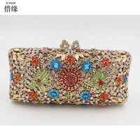 Xiyuan бренд Для женщин кошелек diamond crystal монета держатель карты деньги клип сумка длинные телефон кошелек карман для купюр