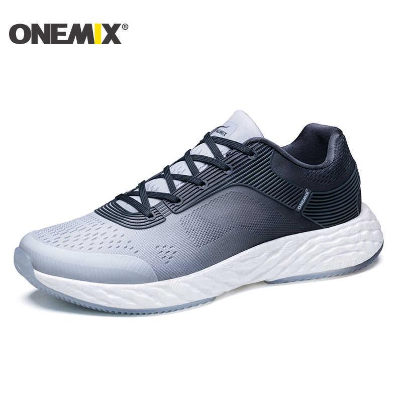Onemix รองเท้าวิ่งชายรองเท้าผู้หญิงตาข่าย Breathable Designer Zapatillas Trail กีฬารองเท้ากลางแจ้งเดินรองเท้าผ้าใบ