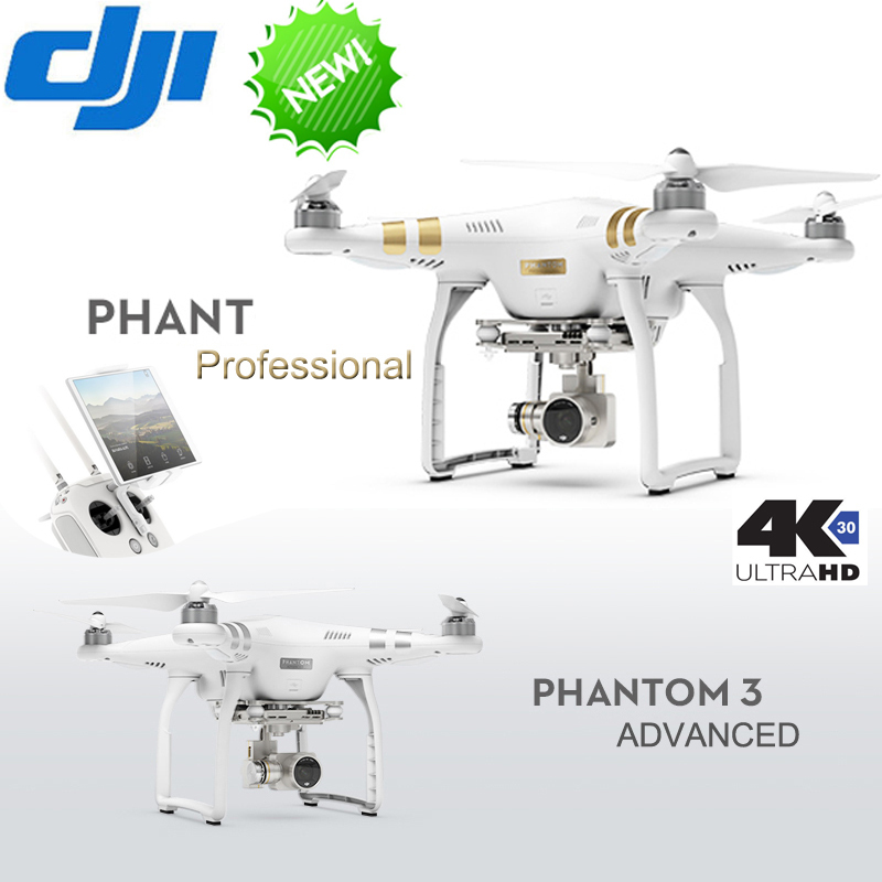 DHL Free Shiping Dji phantom 3 PROFESSIONAL Drone RTF with live HD view 4K Full HD wifi camera & Brushless Gimble,GPS system,