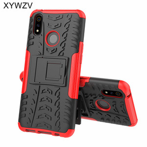 Image 1 - OPPO Realme 3 Pro Case Shockproof Cover Armor Soft PU Silicone Hard PC Phone Case For OPPO Realme 3 Pro Back Cover Realme X Lite