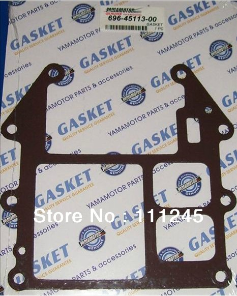 2X GASKETS FOR YAMAHA 2 STROKE 48HP OUTBORAD ENGINE/MOTOR FREE SHIPPING CHEAP BASE GASKET REPLACEMENT OEM P/N# 696-45113-00 boat motor t85 04000005 reverse gear for parsun outboard engine 2 stroke t75 t85 t90 free shipping