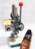 Hot Foil Stamping Machine For Shoes Size 2 5x6cm Max Gold Foil Roll Copper Mold With
