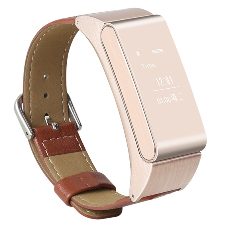 2in1 Smart Bracelet Talk Band with Detachable Bluetooth Earphone Support Pedometer wristband Sleep Monitor for Android IOS