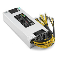 Good Quality 2200W BTC APW3++ PSU Mining Power Supply For Bitcoin ETH Antminer S9 S7 L3+ US Battery Power Supply