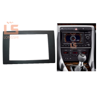 Car refitting DVD frame,Dash Kit,Fascia,Radio Frame Auto Stereo Panel kit Audio Frame Trim Bezel for 2006 Audi A4, 2 DIN173*98mm