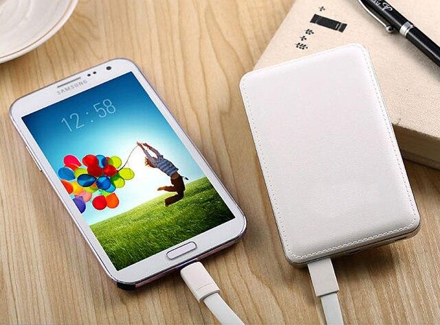 Power Bank 10000 мАч Powerbank Портативное Зарядное Внешняя Батарея bateria каррегадор де bateria portatil для iphone 6 5s 5
