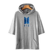 Hooded BTS T-Shirt  With Pockets [30 Colors]