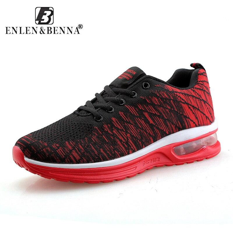 Air Mesh Breath Running Shoes Men Sport Lace Up Shoes Athletic Sneakers Men Training Walking Footwear Male Adult Shoe Cheap Shoe