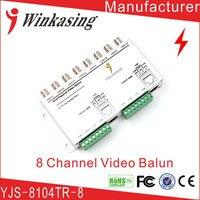 CCTV 8Ch Passif Vidéo Balun Caméra Cat5 DVR BNC UTP RJ45 Émetteur-Récepteur de Sécurité cctv Vidéo Balun Émetteur 3 PCS