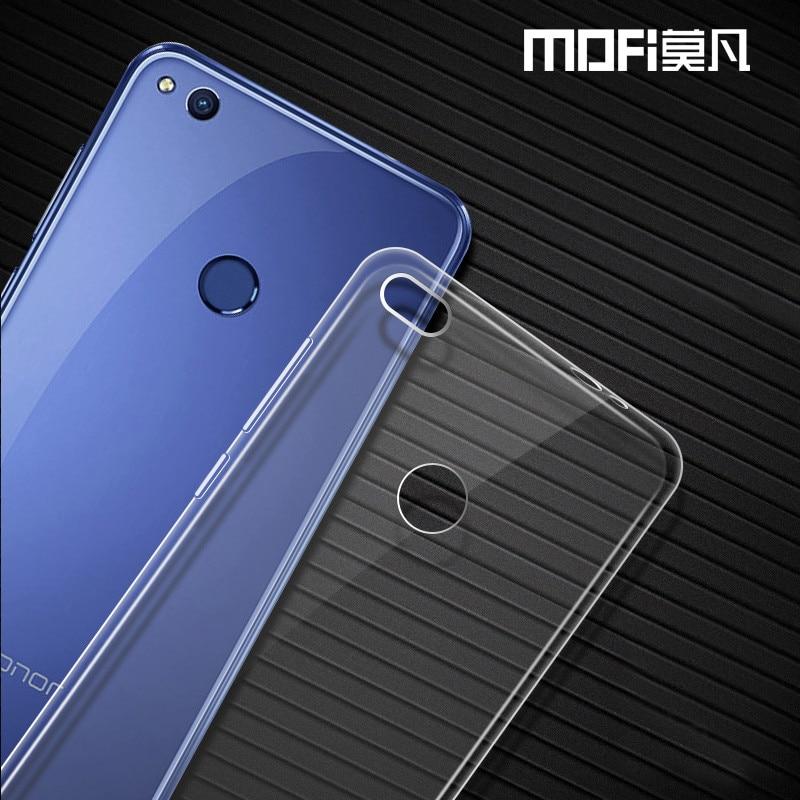 """Huawei P8 lite 2017 custodia in silicone MOFi originale Huawei honor 8 lite copertura della cassa TPU posteriore molle nova p8 lite caso 2017 cover 5.2"""""""