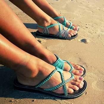 Hippie Stylish Rope Sandals 2