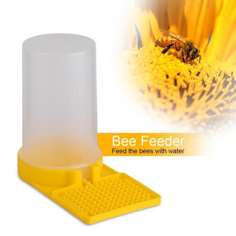 New Keeping Honey Water Equipment Plastic Bee Beekeeping Hive Drinking Feeder