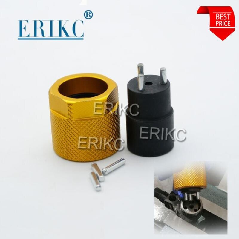 Erikc três-maxila chaves injetor original trilho comum remover ferramentas remoção de válvula de combustível diesel para denso série injeção