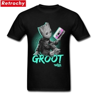 Guardians Of The Galaxy Custom Short Sleeve Boyfriend S Groot S Mixtape T Shirts Coole Mens