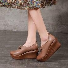 Baru Sepatu Pompa Platform