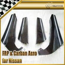 ЭПР Стайлинга Автомобилей Переднего Бампера Canard Для Nissan Skyline R34 GTR Углеродного Волокна Автомобильные Аксессуары Racing