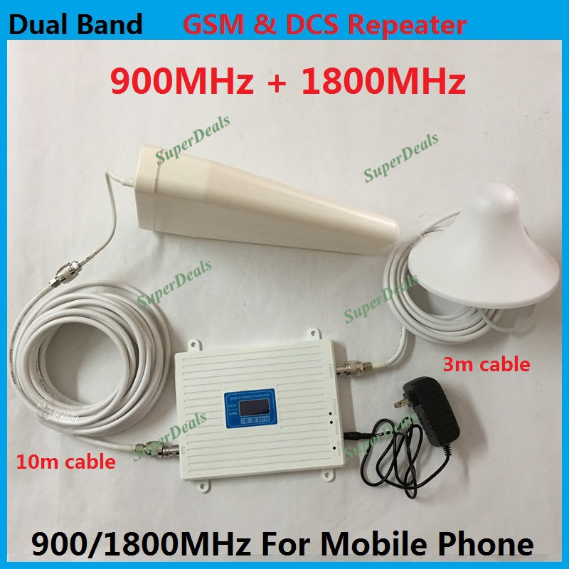 High Gain Dual Band GSM Repeater 4G DCS booster Cell Phone Signal Booster 900mhz 1800mhz Mobile Phone Signal Repeater Amplifier High Gain Dual Band GSM Repeater 4G DCS booster Cell Phone Signal Booster 900mhz 1800mhz Mobile Phone Signal Repeater Amplifier