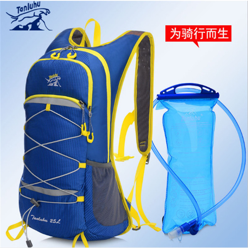 Running Marathon Bag TANLUHU 674 Nylon 25L Sports Bag Cycling Backpack For 2L Water Bag Outdoor Climbing Hiking Bag