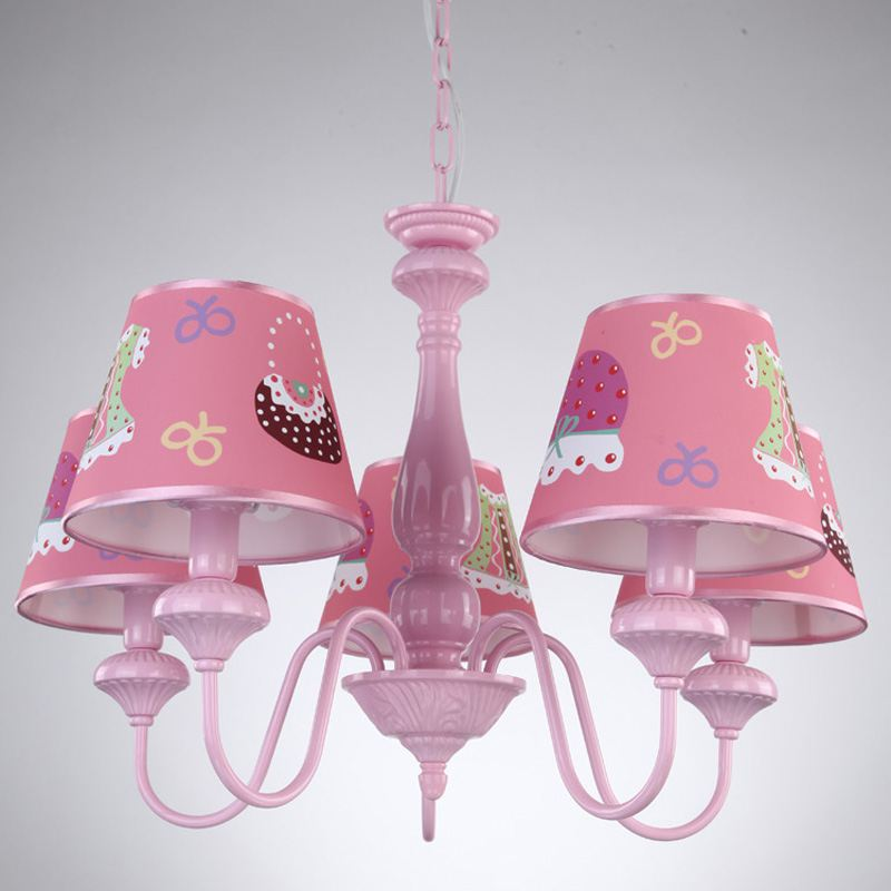 Aliexpress Oovov Cartoon Pink Princess Room Chandelier Fashion S Pendant Lamps Kid Hanging Lamp Lights From Reliable Lighting