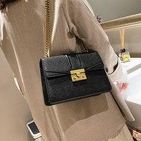 Famous Brand Crossbody Bag Small Women Shoulder Purse Chain Lock Women Messenger Bags Designer Flap Bolsas Feminina luis vuiton