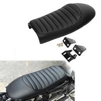 Universal Black Hump Cafe Racer Motorcycle Seat Saddle for Honda CB CL Retro Cafe Racer Car Accessories Modification